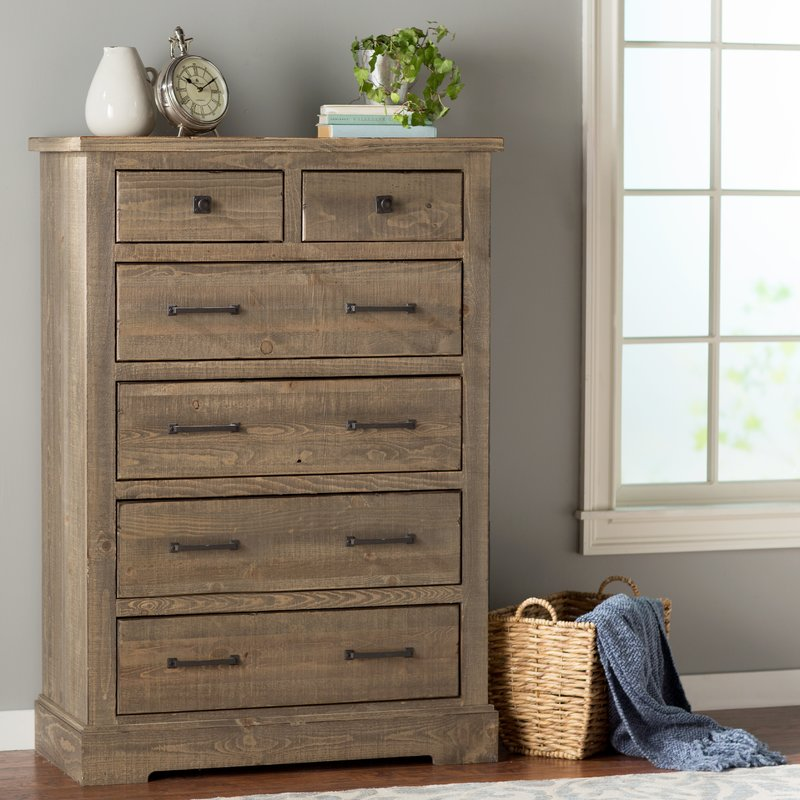 Great 6 Drawer Chest Of Drawers August Grove Buford 6 Drawer Chest Reviews Wayfair