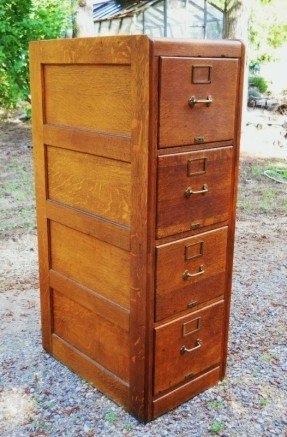 Great Antique Filing Cabinet Solid Wood Filing Cabinet Foter