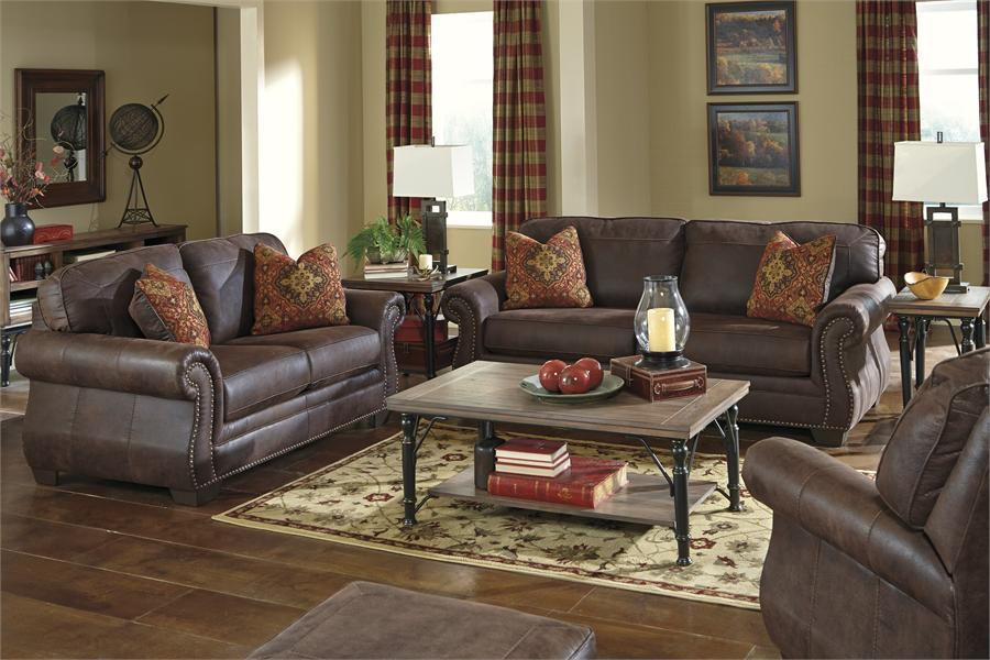 Great Ashley Furniture Leather Couch And Loveseat Baltwood Espresso Sofa Ashley Furniture