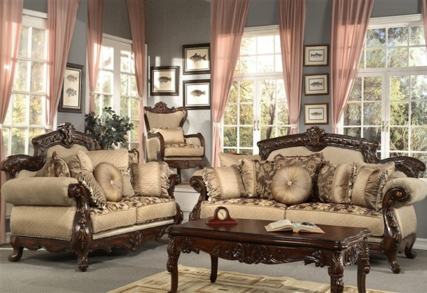 Chic Ashley Furniture Traditional Living Room Sets Living