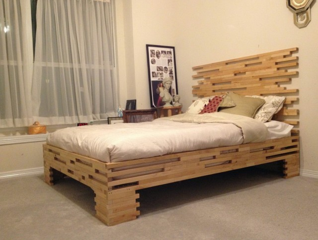Great Base Bed Frame Queen Bedroom Wonderful Wood Bed Frame Queen Designerstyle Within Wooden