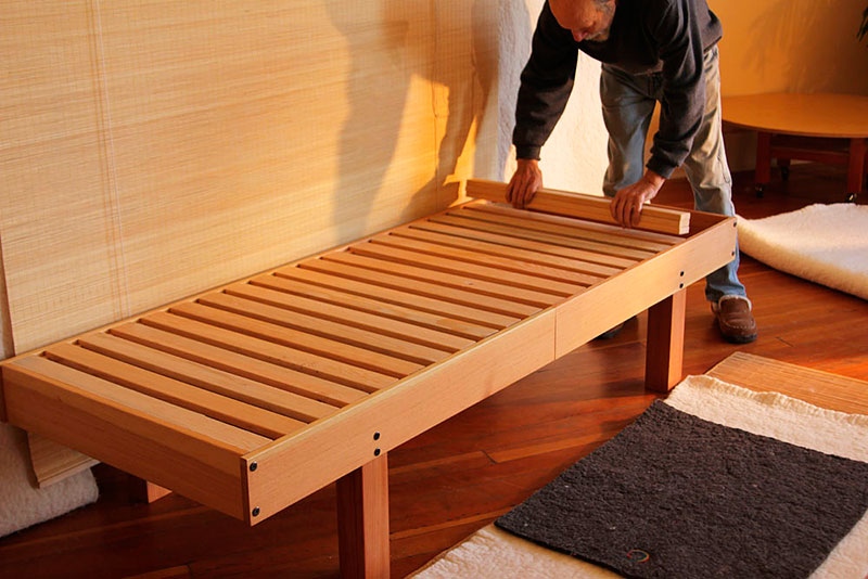 Great Bed Frame And Slats Layered Felt Bed 101 Heartfelt Collective