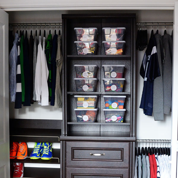 Great Bedroom Closet Organization Systems Taming Clutter With A Closet Organizer The Home Depot