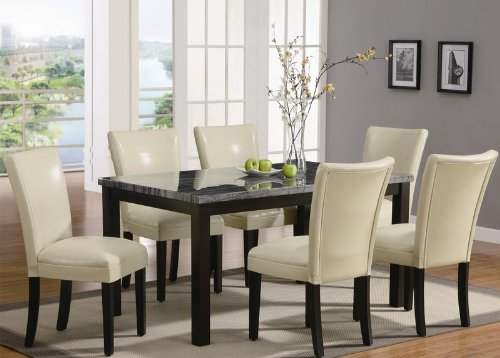 Great Black And Cream Dining Chairs Leather Dining Room Furniture Photo Of Exemplary Black Leather