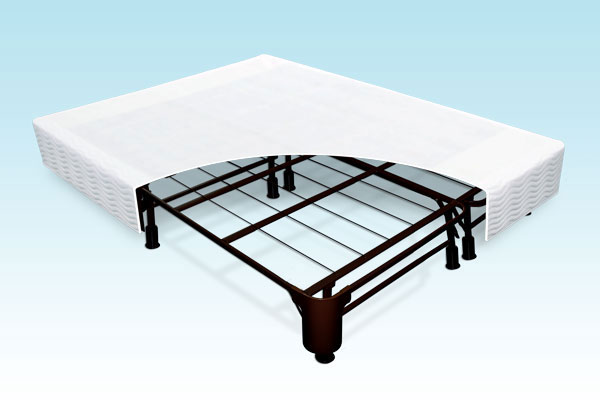 Great Box Spring Frame Queen Tall Bed Frame