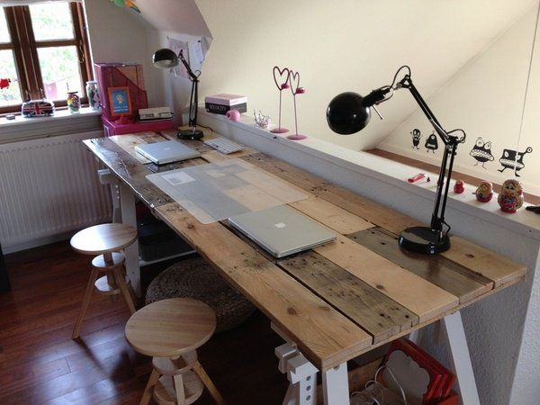 Great Build Own Desk Best 25 Build A Desk Ideas On Pinterest Long Desk Filing
