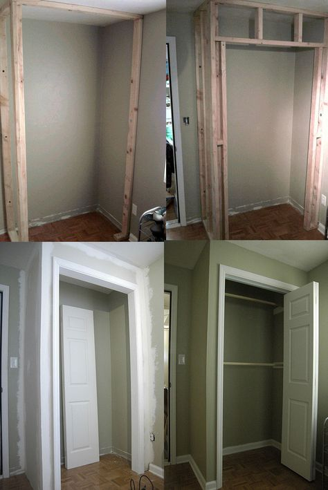 Great Building A Closet In A Bedroom How To Build A Closet In An Existing Room For The Home