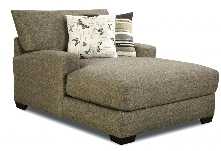 Great Chaise Lounge With Arms Chaise Grey Upholstered Big Indoor Chaise Lounge With Arms And
