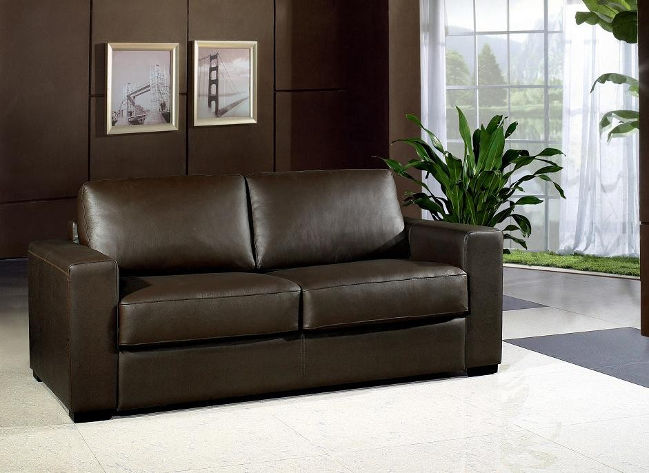 Great Chocolate Brown Leather Sofa Modern Chocolate Leather Sofa Bed