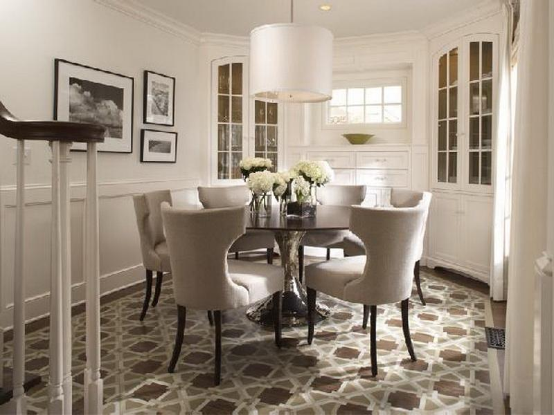 Great Circle Dining Room Table Perfect Round Dining Room Tables For 6 With Circle Dining Room