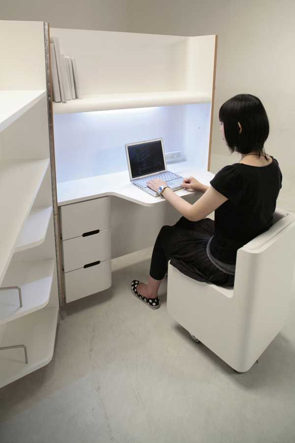 Great Compact Office Furniture 68 Best Compact Office Images On Pinterest Architecture Home