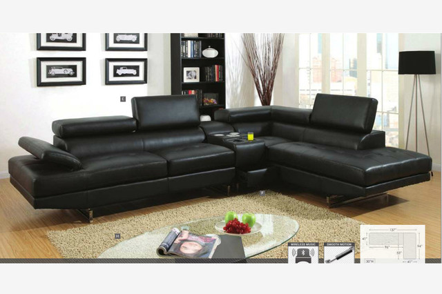 Great Contemporary Black Leather Sofa Stunning Black Sectional Leather Sofa With Black Leather Sectional