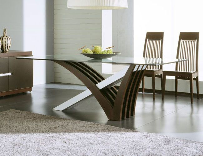 Great Contemporary Dining Table Glass Top Modern Dining Tables For Trendy Homes Modern Glass