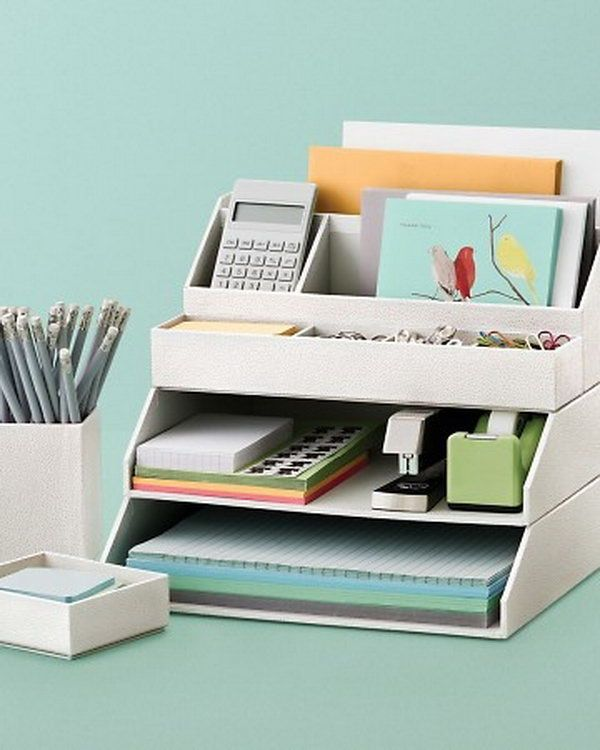 Great Creative Office Desk Ideas Best 25 Desk Accessories Ideas On Pinterest Gold Desk