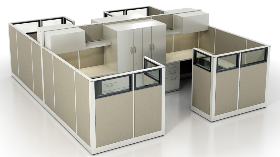 Great Cubicle Office Furniture Cubicle Dimensions