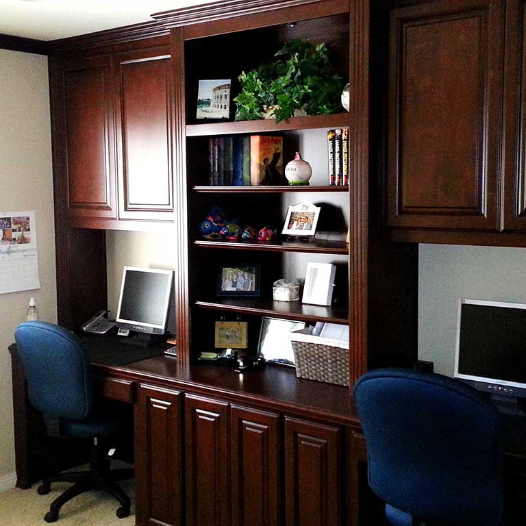 Great Custom Home Office Furniture Custom Home Office Cabinets In Southern California