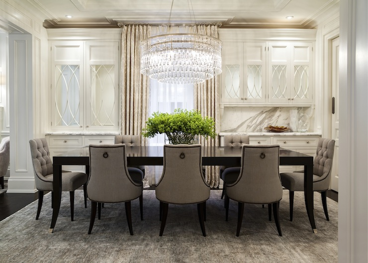 Great Dining Room Chairs With Studs Chairs Amazing Gray Tufted Dining Chairs Gray Tufted Dining