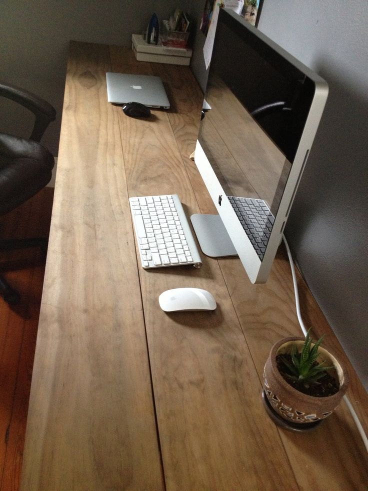Great Diy Wood Desk Best 25 Wooden Desk Ideas On Pinterest Diy Wooden Desk Office