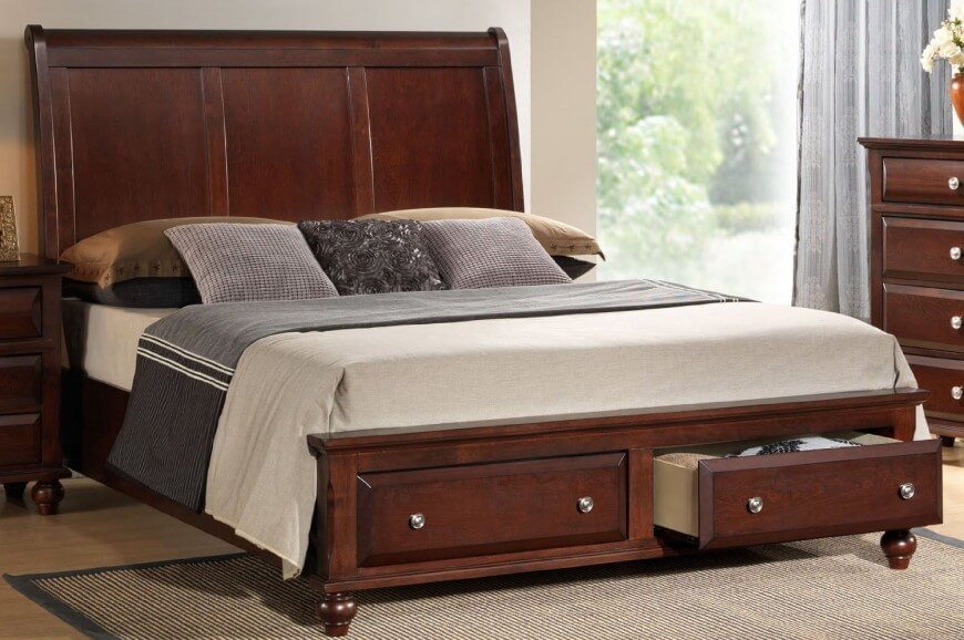 Great Double Bed Headboard And Footboard 25 Incredible Queen Sized Beds With Storage Drawers Underneath