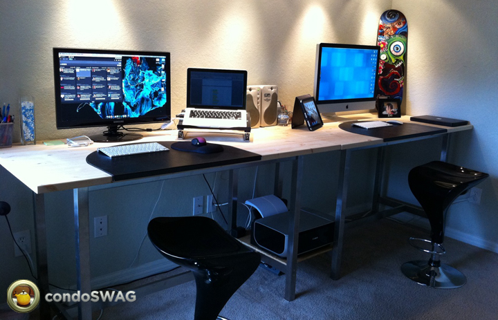 Great Double Desk Ikea Exciting Double Desk Ikea 98 For Home Wallpaper With Double Desk