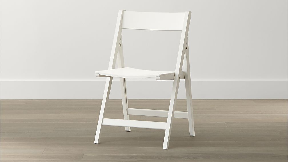 Great Folding Dining Chairs Spare White Folding Wood Dining Chair Crate And Barrel