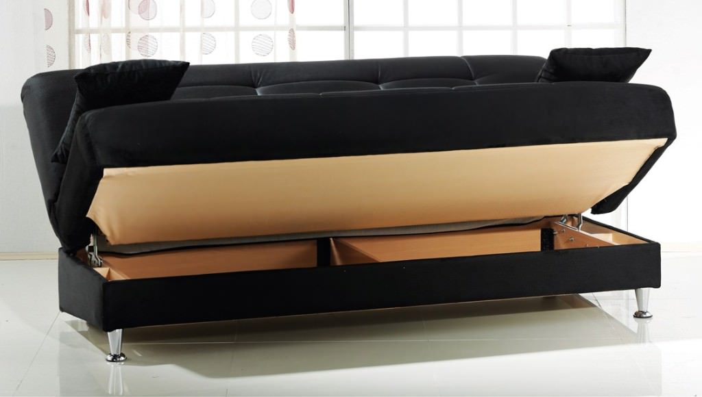 Great Futon Sofa Bed With Storage Cool Sofa Bed With Storage Southbaynorton Interior Home