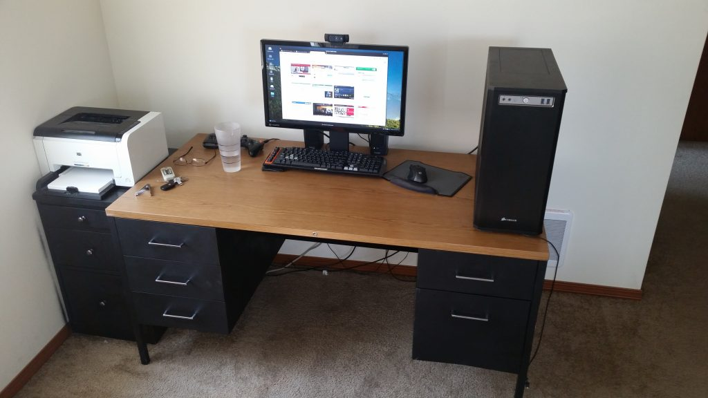 Great Gaming Computer Desk For Multiple Monitors Best Gaming Desk Ikea Amazing Home Office Setups Beautiful