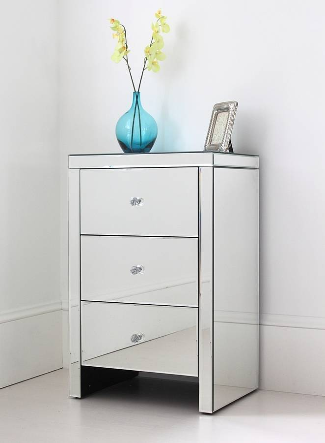 Great Glass Bedside Table Ikea The High End Mirrored Bedside Table Wigandia Bedroom Collection