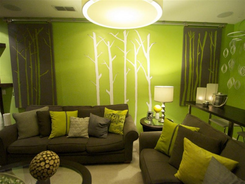 Great Green Living Room Set Living Room Green Living Room With Combination Of Green And