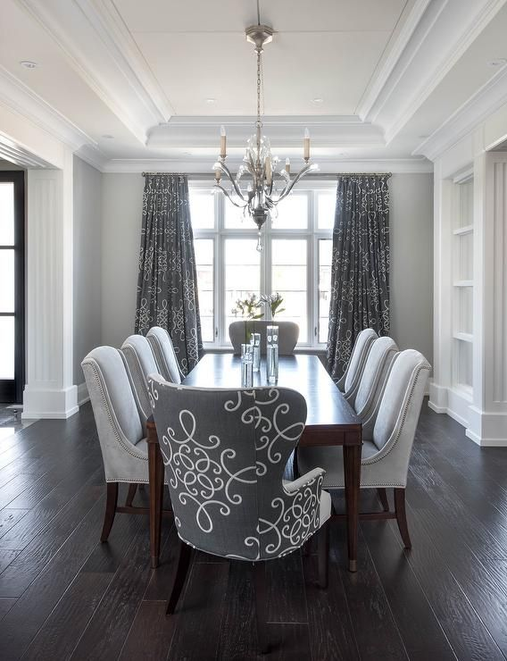 Great Grey Studded Dining Room Chairs Best 25 Dining Room Chairs Ideas On Pinterest Dining Chairs