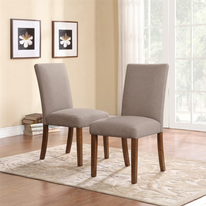 Great High Back Parson Dining Chairs Dining Room Casual Dining Sets Tufted Dining Chair With Arms