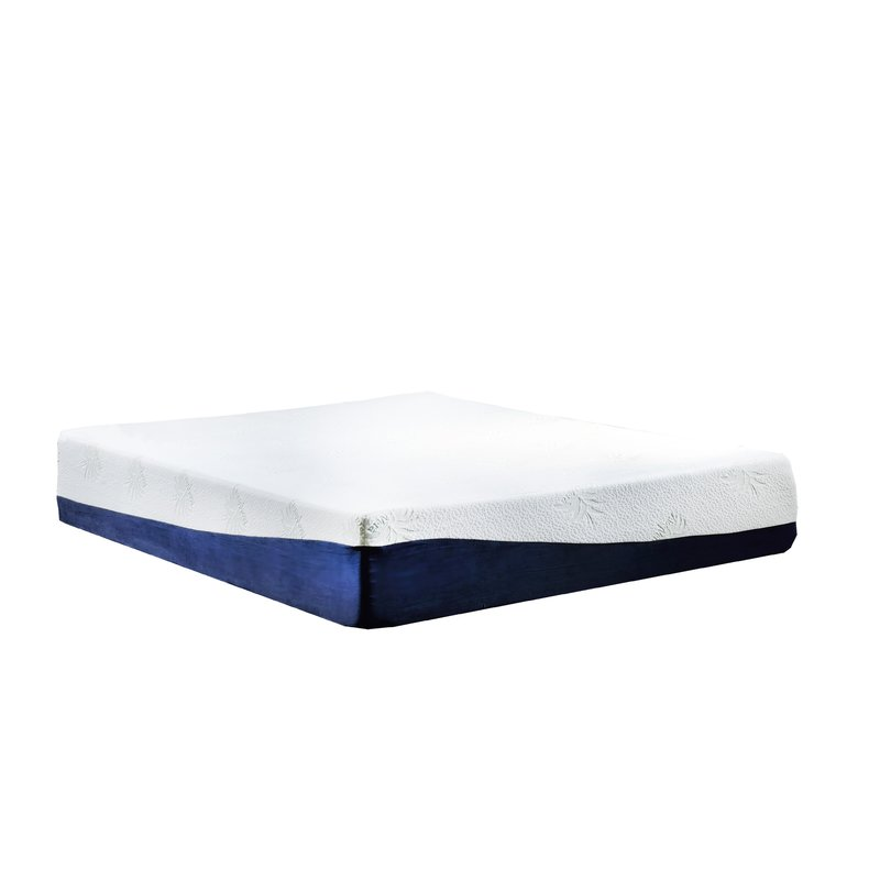 Great High Density Foam Mattress Madison Home Usa High Density 13 Plush Gel Memory Foam Mattress