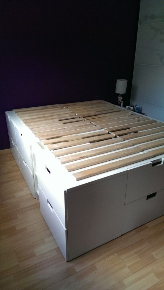 Great Ikea Queen Platform Bed With Storage A Captain Bed With Extra Storage Place Ikea Hackers Someday I