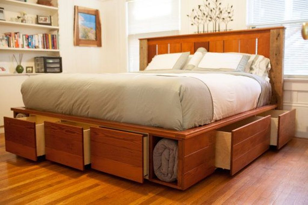Great King Bed With Drawers King Platform Bed With Drawers Style Effortless To Build King