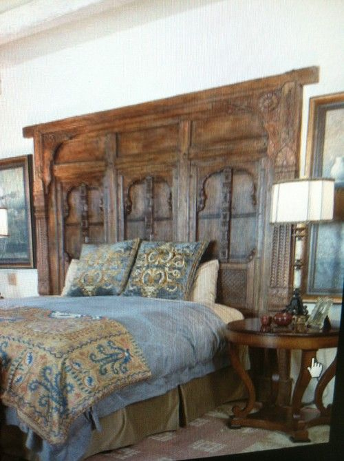 Great King Size Head Boards King Size Headboard Made Out Of Old Doors Garmon Ferry Pinterest