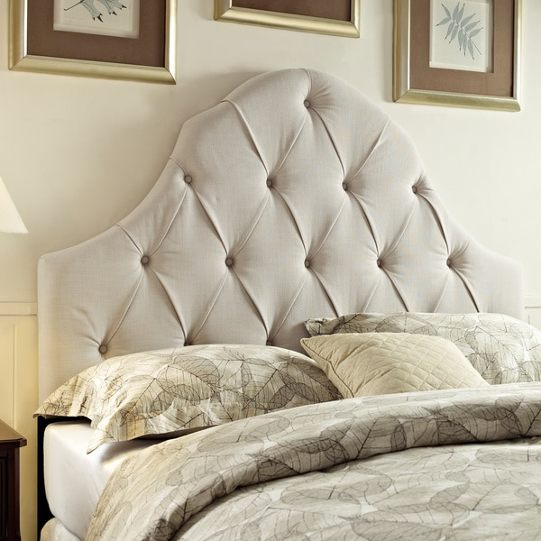 Great King Size Headboard And Frame Shop Tufted Taupe Kingcalifornia King Size Upholstered Headboard