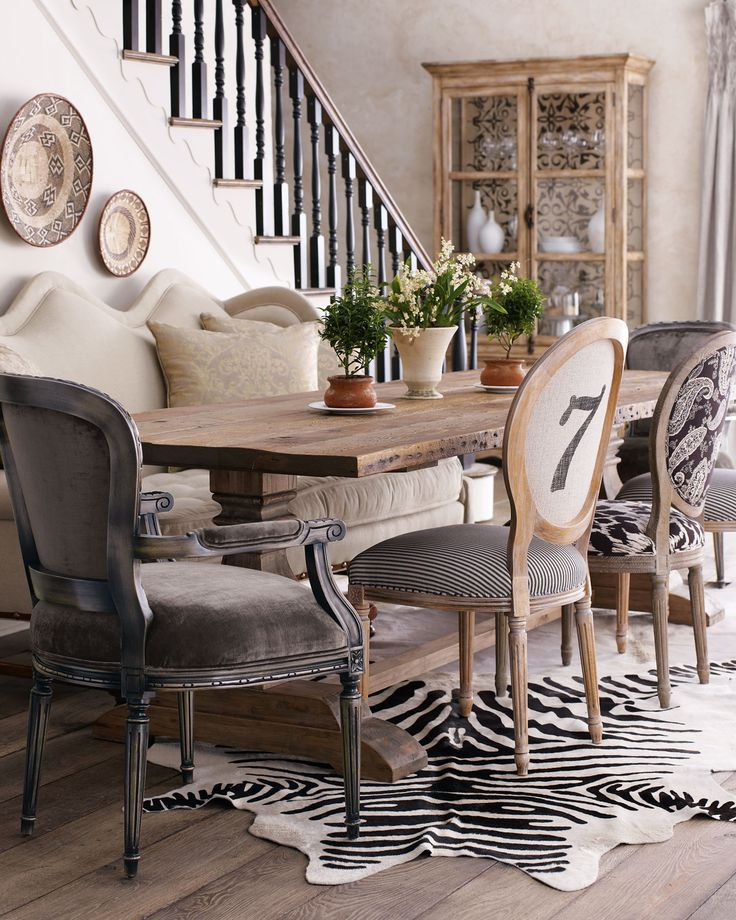 Great Leather And Fabric Dining Room Chairs Best 25 Mismatched Dining Chairs Ideas On Pinterest Mismatched
