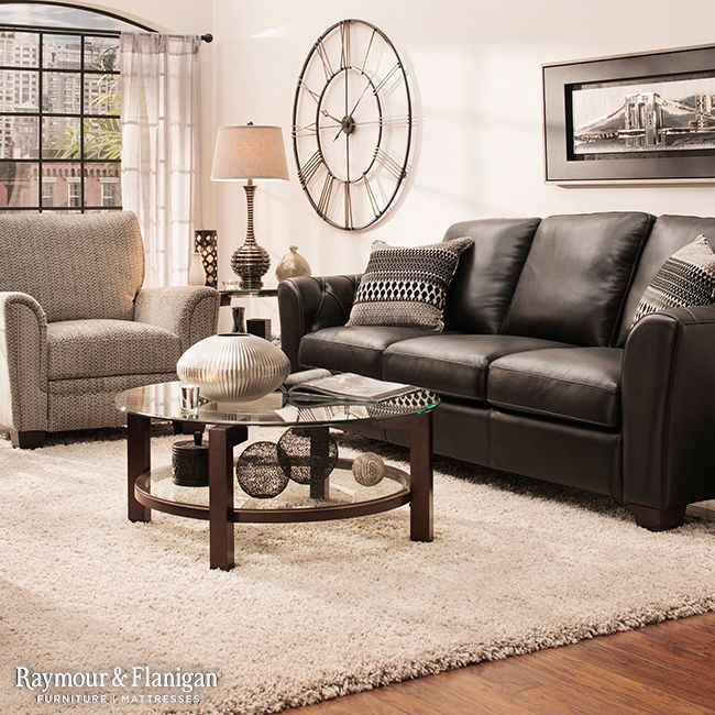 Great Leather Couch Living Room Is Black Leather More Your Style Consider Going Contemporary With