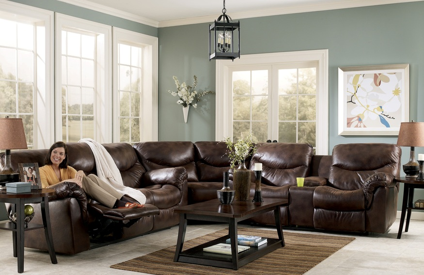 Great Leather Living Room Sectionals Elegance And Home Style With Living Room Ideas Brown Sofa