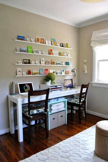 Great Long Desks For Home Office Best 25 Two Person Desk Ideas On Pinterest 2 Person Desk Home