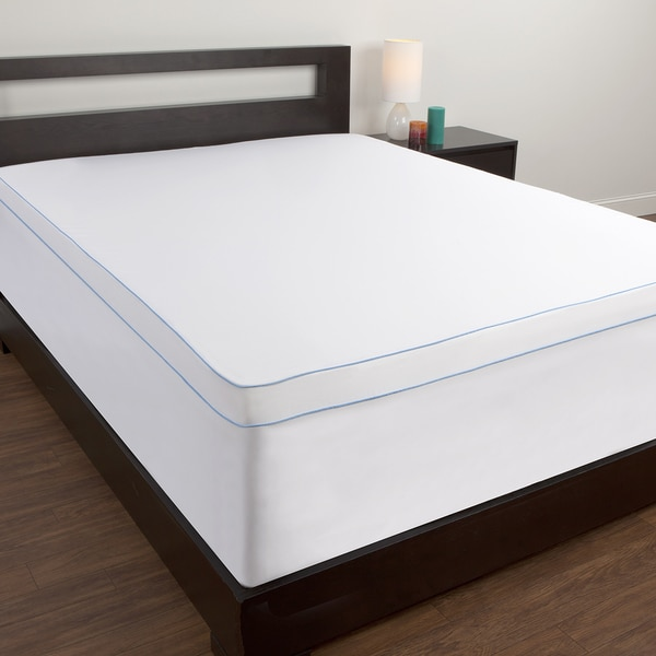 Great Mattress Topper Cover King Comfort Memories Memory Foam Topper Cover Free Shipping On