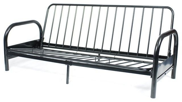 Great Metal Futon Frame Queen Size Black Metal Frame Futon Roselawnlutheran