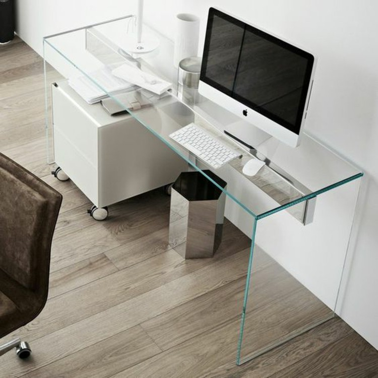 Great Minimalist Office Desk Glass Desk The Most Beautiful Accessory For Your Minimalist