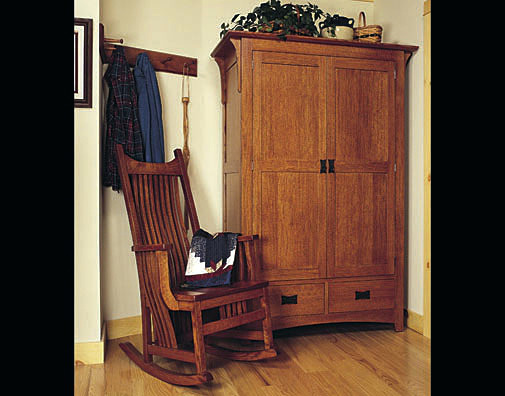 Great Mission Style Armoire Wardrobe Wardrobes Crafstman Closet Doors Mission Style Wardrobe Closet
