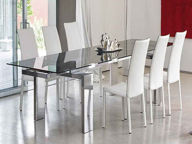 Great Modern Glass Dining Table Set Charming Modern Glass Dining Table And Modern Glass Dining Room