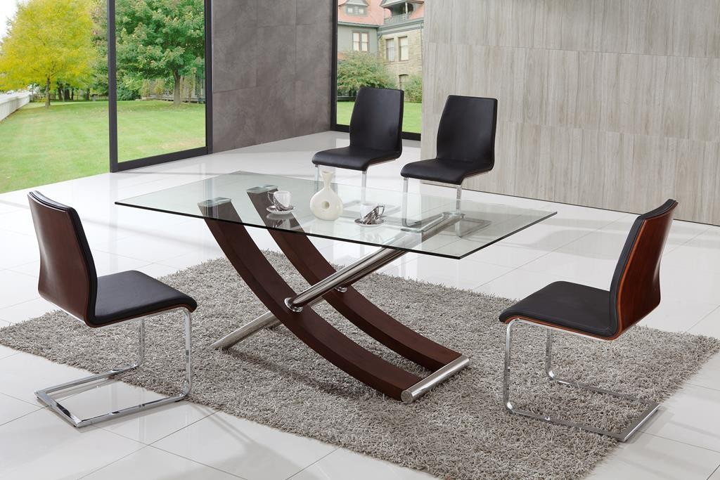 Great Modern Glass Dining Table Set Luxury Modern Glass Dining Table Tedxumkc Decoration