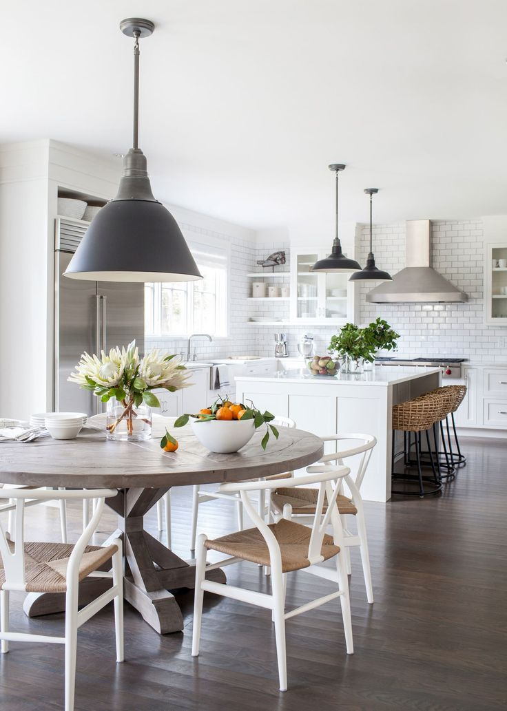 Great Modern White Kitchen Table Best 25 Kitchen Tables Ideas On Pinterest Farm Dining Table