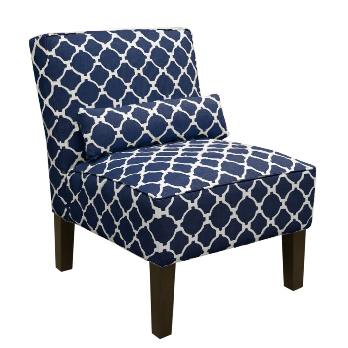 Great Navy Blue Accent Chair Chairs Marvellous Navy Accent Chairs Blue Wingback Chair Blue
