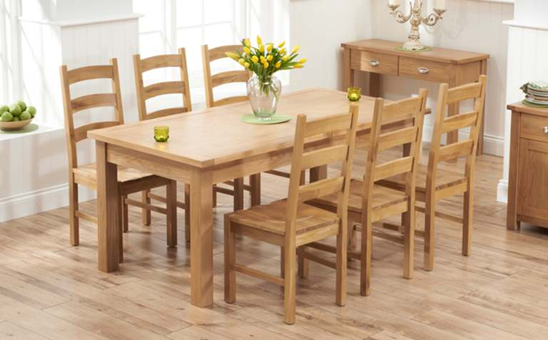 Great Oak Dining Table Oak Dining Table Sets Great Furniture Trading Company The