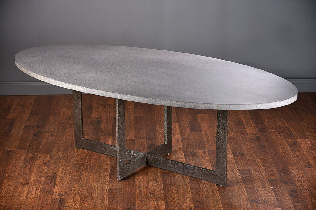 Great Oval Dining Table Xander Oval Lava Stone Dining Table Mecox Gardens